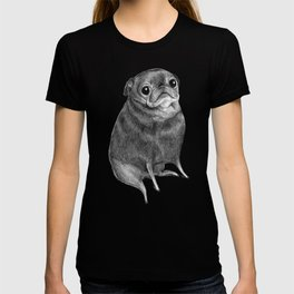 Sweet Black Pug T-shirt