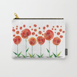 The poppy's bonfire (of emotions and petals) Carry-All Pouch