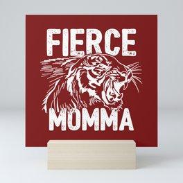 Fierce Momma / Red Mini Art Print