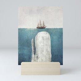 The White Whale Mini Art Print