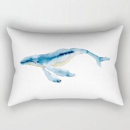 humpback buddy Rectangular Pillow