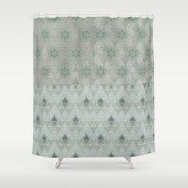 Kiwi Diamonds Shower Curtain