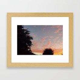 Texas Hill Country Sky - Sunrise 3 Framed Art Print