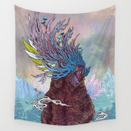 Journeying Spirit (Bear) Wall Tapestry