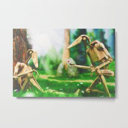Battle Droid Pick-Me-Up Metal Print