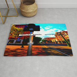 Main Street Trolley Rug