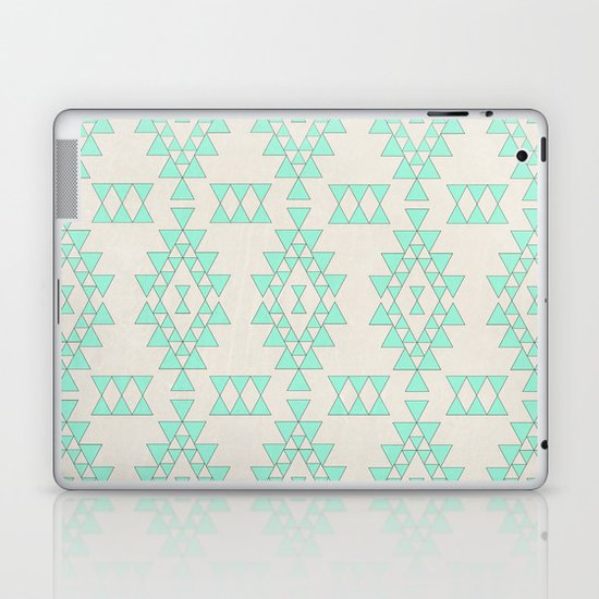 Mint Geo Laptop & iPad Skin