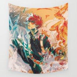 Half-Cold Half-Hot Wall Tapestry