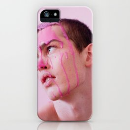 Graeme with pepto bismol iPhone Case