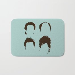 Seinfeld Hair Square Bath Mat