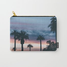 Palm Tree Sky Sunset Carry-All Pouch