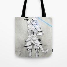 Samurai Trooper Tote Bag