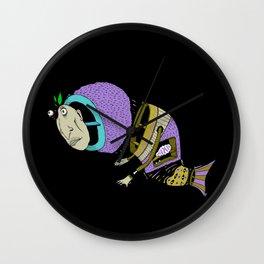 Monsta Fish Wall Clock
