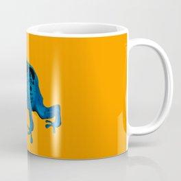 Blue Frog Coffee Mug