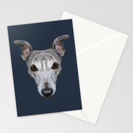 Whippet // Navy Stationery Cards