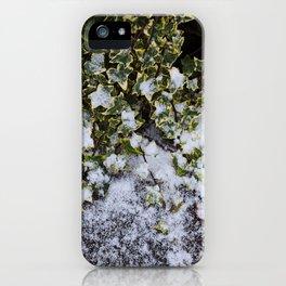 Neve em Londres - 6 iPhone Case