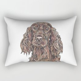 Red Setter Rectangular Pillow