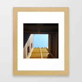 #133Photo #146 #YellowFound #Architecture Framed Art Print
