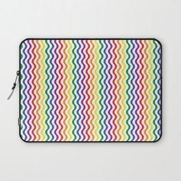 Rainbow Waves Laptop Sleeve