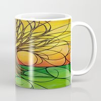 tree of life Mugs featuring Tree Life  by R.Blume