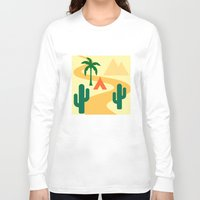 camping Long Sleeve T-shirts featuring Camping by Mr & Mrs Quirynen