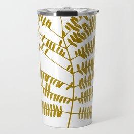 Golden Leaf #Minimal Travel Mug