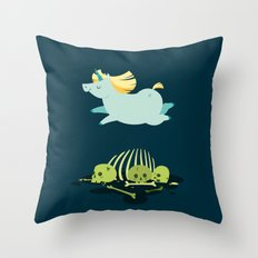 Chubbycorn Throw Pillow