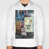 broadway Hoodies featuring Mamma Mia Broadway New York painted Photorealism by Premium