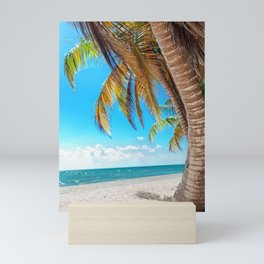Domenicana beach Mini Art Print