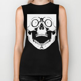 screaming skull Biker Tank