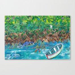 Island Mangroves Canvas Print