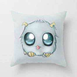 Poro Snax! Throw Pillow