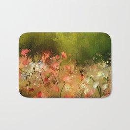 Flowers Of Corfu Bath Mat