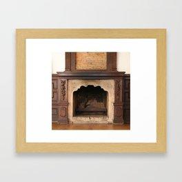Old Fireplace Framed Art Print