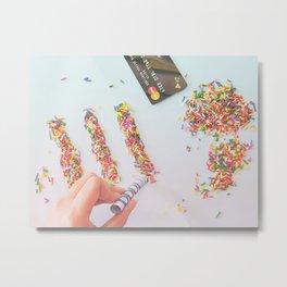 High on Sugar Metal Print