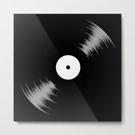 Vinyl Metal Print