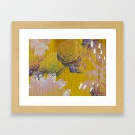 Crystal Camellia  Framed Art Print