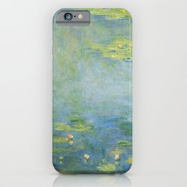 Water lilies by Claude Monet, 1906 iPhone Case