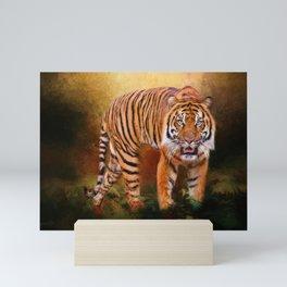 Sumatran Tiger Mini Art Print