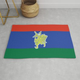 Flag of Kayah Rug