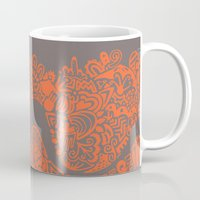safari Mugs featuring Safari by datavis/pwowk