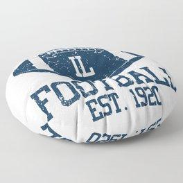 Chicago Football Fan Gift Present Idea Floor Pillow