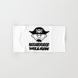 Neighborhood Villain Hand & Bath Towel