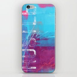 SEIZE THE MOMENT iPhone Skin
