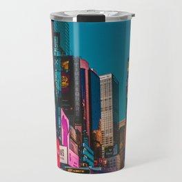 City Lights NYC (Color) Travel Mug