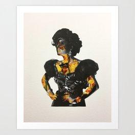 She's Jalapeño Buisness Art Print