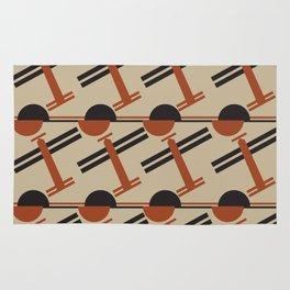 soviet pattern - constructivism Rug