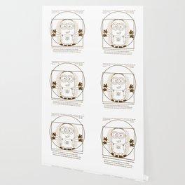 Vitruvian minion Wallpaper