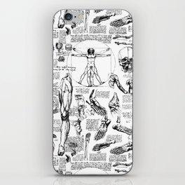 Da Vinci's Anatomy Sketchbook iPhone Skin