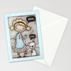 Hey, Woof - by Diane Duda Stationery Cards